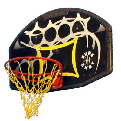 Basketball Backboard And Flex Ring Set By Hotshot Sport