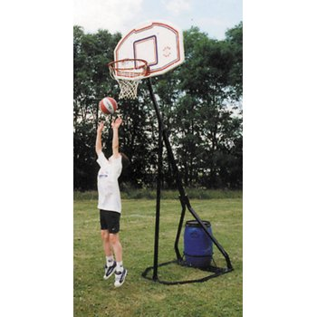 Basketball Post Folding With Flex Ring Online At Hotshot Sport