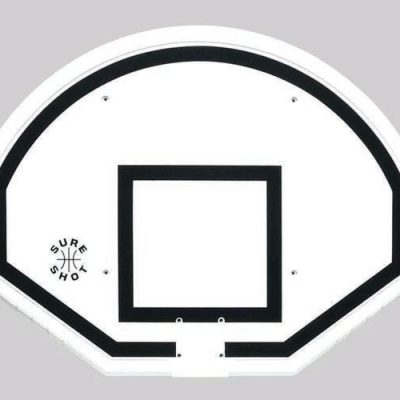 Fan Shape Polypropylene Basketball Backboard By Hotshot Sport