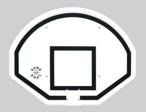 Fan Shape Polypropylene Basketball Backboard By Hotshot Sport