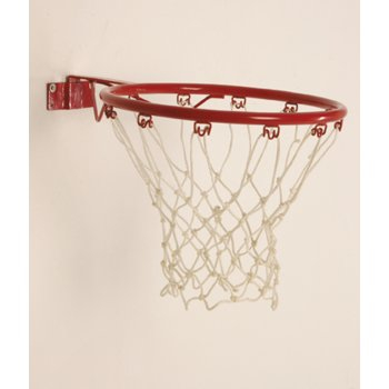 Fixed Netball Ring And Net Set By Hotshot Sport