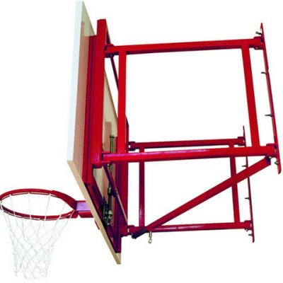 Heavy Duty Adjustable Wall Mount Basketball Unit By Hotshot Sport