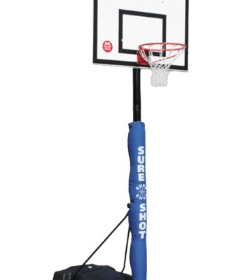 Heavy Duty Basketball Post By Hotshot Sport