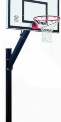 Heavy Duty Inground Basketball Post From Hotshot Sport
