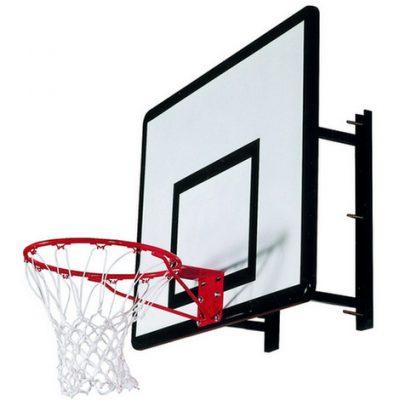 Heavy Duty Wall Mounted Basketball Set By Hotshot Sport