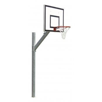 In Ground Galvanised Basketball Post By Hotshot Sport