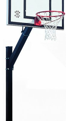 Inground Steel Heavy Duty Basketball Post By Hotshot Sport