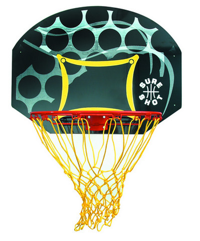 Junior Basketball Backboard And Ring Set By Hotshot Sport