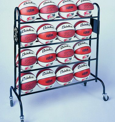 Mobile 16 Ball Stroage Trolley By Hotshot Sport
