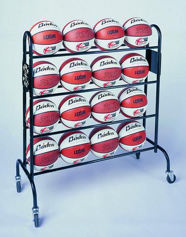 Mobile 16 Ball Stroage Trolley By Hotshot Sport
