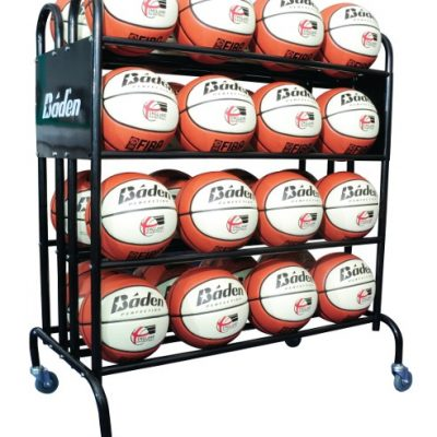 Mobile 32 Ball Storage Trolley By Hotshot Sport