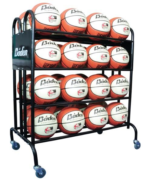 Mobile 32 Ball Storage Trolley By Hotshot Sport