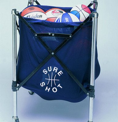 Mobile Ball Storage Caddy by Hotshot Sport