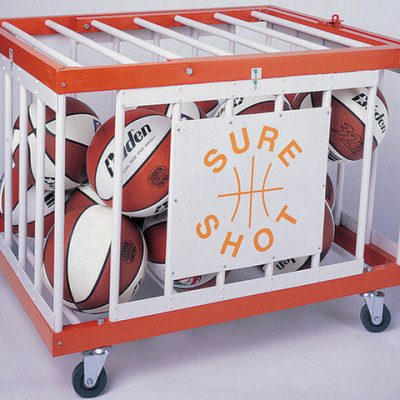 Mobile Ball Storage Cage By Hotshot Sport