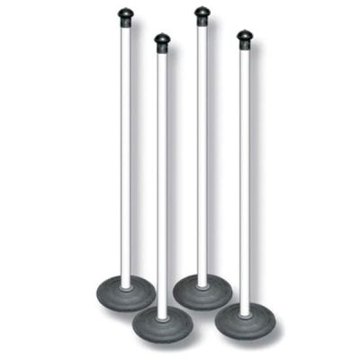 PVC Rounders Set Of 4 Posts By Hotshot Sport