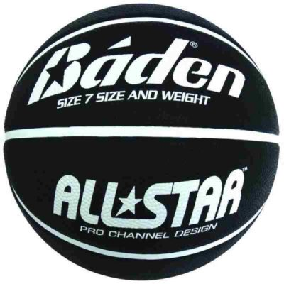 Size 7 Black Basketball By Hotshot Sport