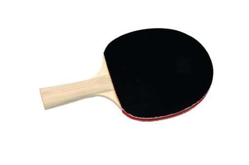 Smooth Red And Black Rubber Table Tennis Bat By Hotshot Sport