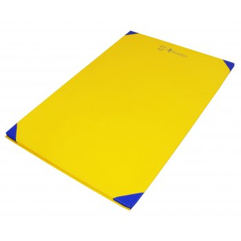 Fitness Exercise Mat Yellow By Hotshot Sport