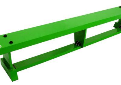 Balancing Bench 2 Metre Green By Hotshot Sport