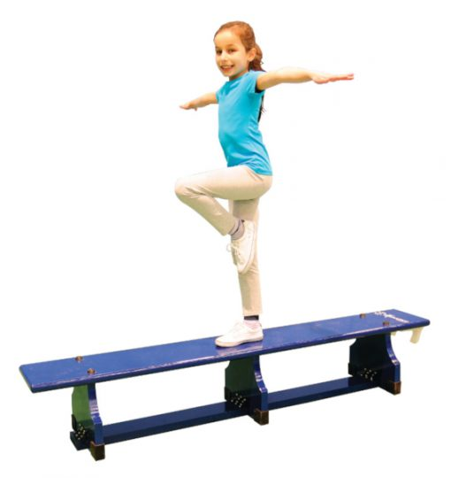 Blue 2 Metre Gym And Seating Bench By Hotshot Sport