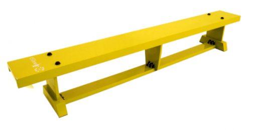Yellow Primary 2 Metre Balance Bench By Hotshot Sport