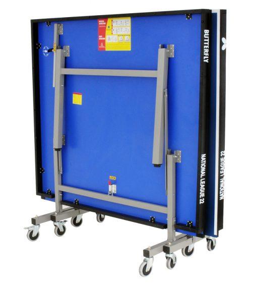 Table Tennis Table 22mm Blue Top Buy Online At Hotshot Sport
