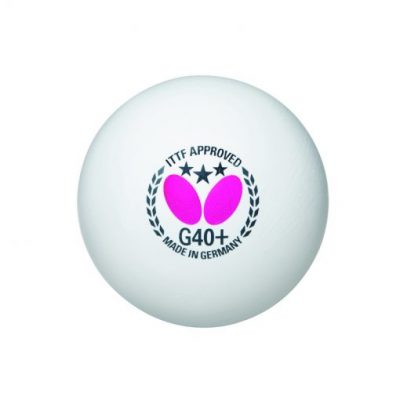 Butterfly G40+ 3 Star Table Tennis Ball By Hotshot Sport