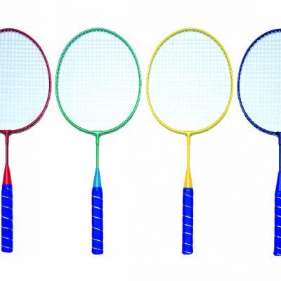 Mini Badminton Racket Set Of Four
