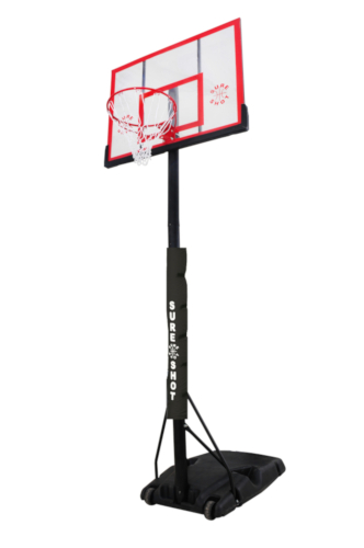 Mobile Acrylic Basketball Stand by Hotshot Sport