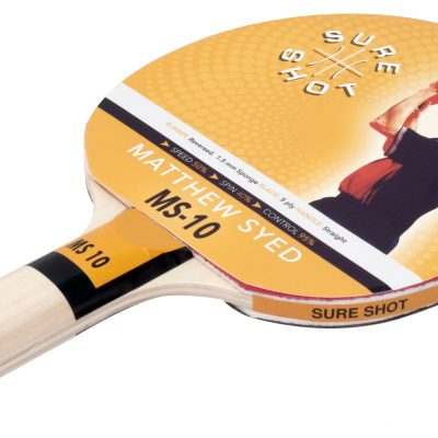Smoth Rubber Table Tennis Bat By Hotshot Sport