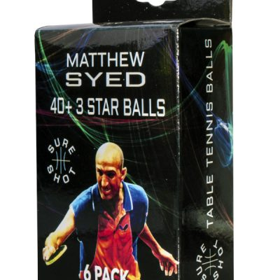 3 Star Match Quality Table Tennis Balls By Hotshot Sport
