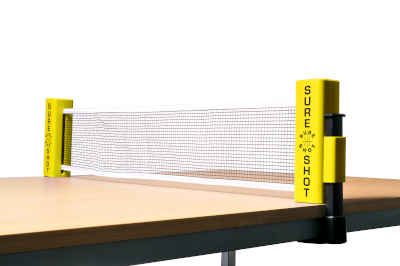 Adjustable Table Tennis Net And Post Set By Hotshot Sport