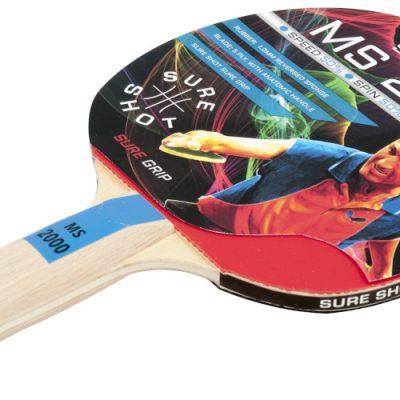 Smooth Rubber Sure Shot Table Tennis Bat By Hotshot Sport