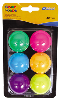 Fun Colored Table Tennis Balls By Hotshot Sport