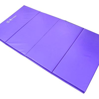 Foldable 25mm Gym Mat Purple By Hotshotsport