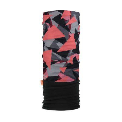Pink Grey And Black Fleece Snood By Hotshotspor