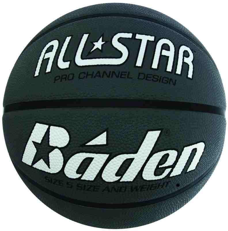 Rubber Basketball Silver