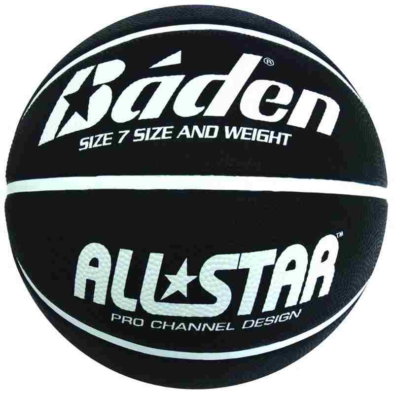 Rubber Basketball Black