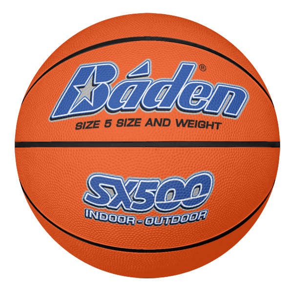 Rubber Basketball Size 5 Tan
