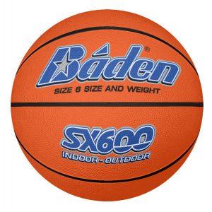 Rubber Basketball Size 6 Tan