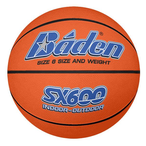 Rubber Basketball Size 6 Tan