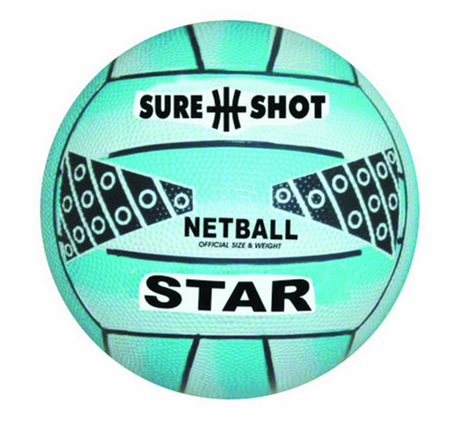 Sure Shot Star Netball Size 5-340N905A